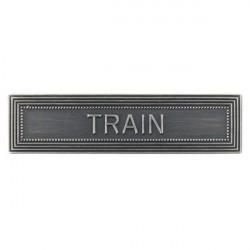 AGRAFE ORDONNANCE TRAIN
