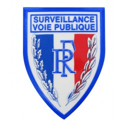 BADGE PLASTIQUE RELIEF...