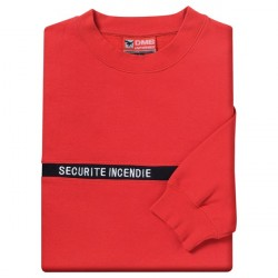 SWEAT ROUGE BRODERIE...