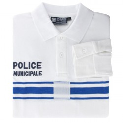 POLO POLY-COTON PM BLANC...