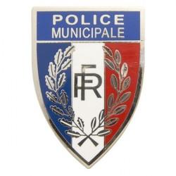 INSIGNE METAL POLICE...
