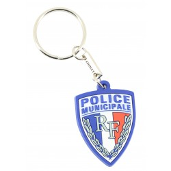 PORTE CLEFS PVC POLICE...
